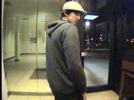 An image from an ATM machine shows Dzhokhar Tsarnaev as he withdrew $800 from the bank account of Dun Meng.